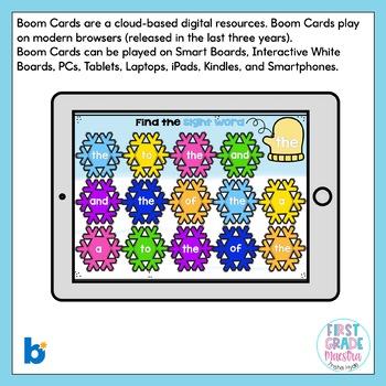 Boom Cards Winter ELA Bundle