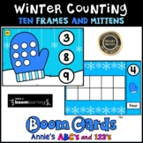 Boom Cards ™ Winter Kindergarten Counting Numbers