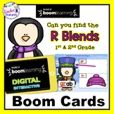 BOOM CARDS WINTER : R Blends & Consonant Blends - Penguins