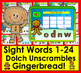 Boom Cards™ Winter Theme:Sight Words Unscramble-Dolch Words 1-24 PrePrimer