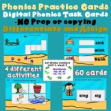 Wonders Phonics Boom Task Card Unit 2, Week 3, End Blends mp, nd, nk, nt, sk, st