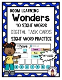 Boom Cards- Wonders Sight Word Practice