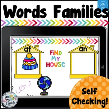 Boom Cards Word Families