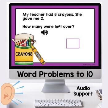 Simple Word Problems Addition and Subtraction