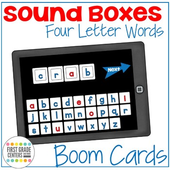 Boom Cards: Word Work with Sound Boxes for Small Groups and RTI