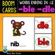 Boom Cards | Words Ending in LE Task Cards Bundle