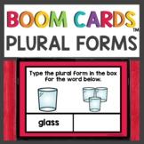 Plural Words s or es Boom Cards