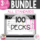 Boom Card Bundle for 3rd Grade