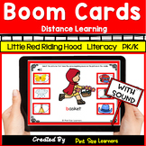 Boom Cards for Distance Learning | Red Riding Hood Literac