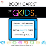 Boom Cards for GKIDS (ADSU Practice and Assessment Decks Bundle)