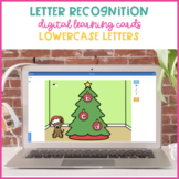 Boom Cards for Lowercase Letter Identification {Christmas Tree}