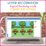 Boom Cards for Lowercase Letter Identification {Thanksgivi