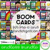 Boom Cards™ for Pre-K and Kindergarten - Distance Learning Endless Bundle