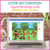 Boom Cards for Uppercase Letter Identification {Pumpkin Patch}