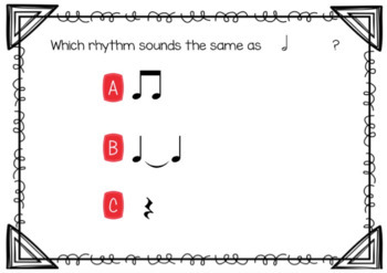 Boom Cards for the Music Room {Half Note}