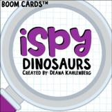 Boom Cards™️ iSpy Dinosaurs
