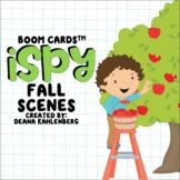 Boom Cards™️ iSpy Fall Scenes