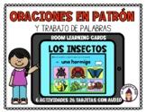 Boom Cards in Spanish- Oraciones en patrón y trabajo de pa