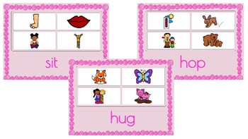 Boom Cards mixed vowels- CVC Words