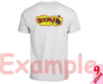 Boom Comic Book Embroidery Design super hero superhero pop art Speech 155b
