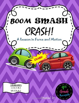 Boom Smash Crash- A Lesson in Force and Motion