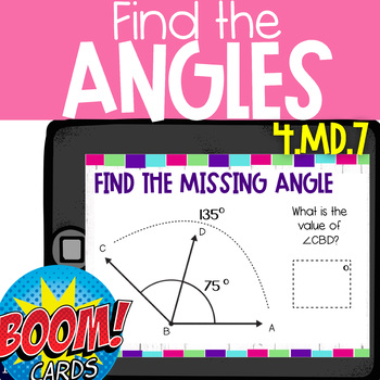 Boom Deck: Find the Missing Angle