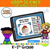 Boom Deck Five Senses / Distance Learning Science