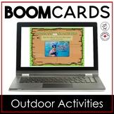 Boom Cards | Human Outdoor Activities