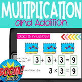 Boom Cards: Multiplication as Repeated Addition 3.oa.1