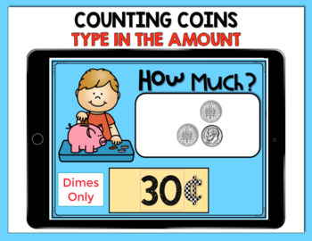 Boom Digital Task Cards ~ Counting Coins