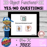 Boom Digital Task Cards:  Object Function Yes/No Questions