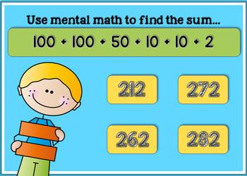 Boom Digital Task Cards ~ Using Friendly Numbers Mental Math