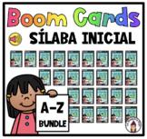 Boom Cards in Spanish- La sílaba inicial BUNDLE