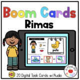 Boom Cards in Spanish-Las rimas
