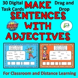 Boom Distance Learning Make Sentences with Adjectives for
