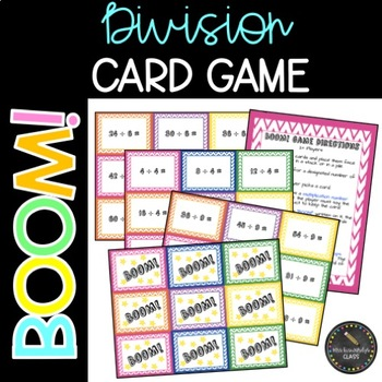 Boom! Division Card Game