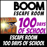 Boom Cards | Escape Room: 100th Day of School | Distance Learning