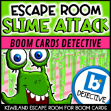 Boom Cards | Escape Room: Slime Attack | Distance Learning