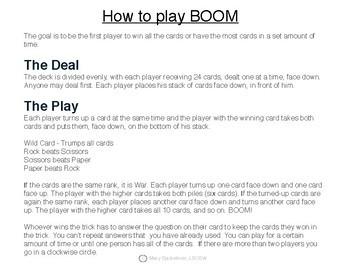 Anger Management Game:  Boom