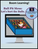 Boom Learning! Ball Pit Mess: Let's Sort the Balls.