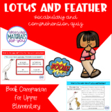 Boom Learning℠ Book Companion | Lotus and Feather