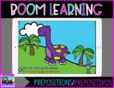 Boom Learning   Dinosaur & Robot Prepositions/Prepositivos