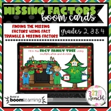 Boom Learning - Missing Factors (Christmas Theme)
