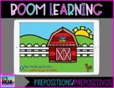 Boom Learning   Farm Prepositions/Prepositivos