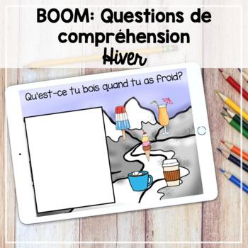 Boom Learning: Questions de compréhension (l'hiver)
