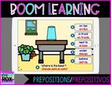 Boom Learning   Teddy Bear Prepositions/Prepositivos