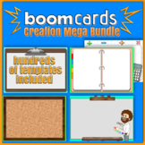 Boom Learning and Poke Card Creation Kit Templates, Clip A