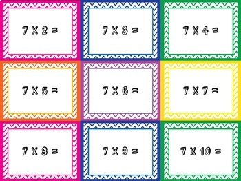 Boom! Multiplication Card Game