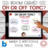 Boom On or Off Topic?:  MS HS Edition