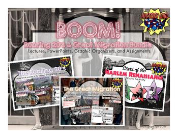 Boom!: Roaring 20's & Great Migration Bundle